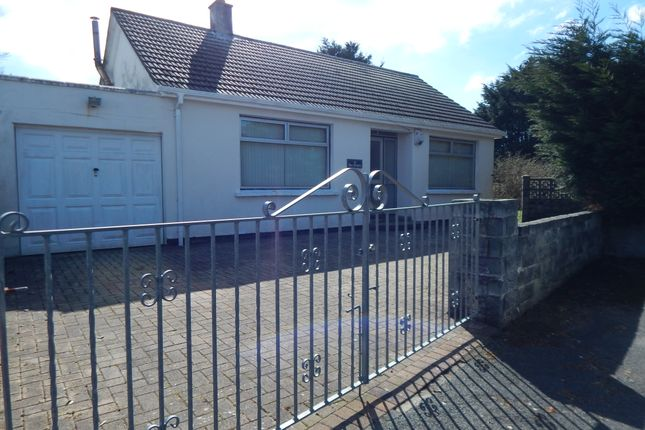 Thumbnail Detached bungalow for sale in Agar Crescent, Illogan Highway, Redruth