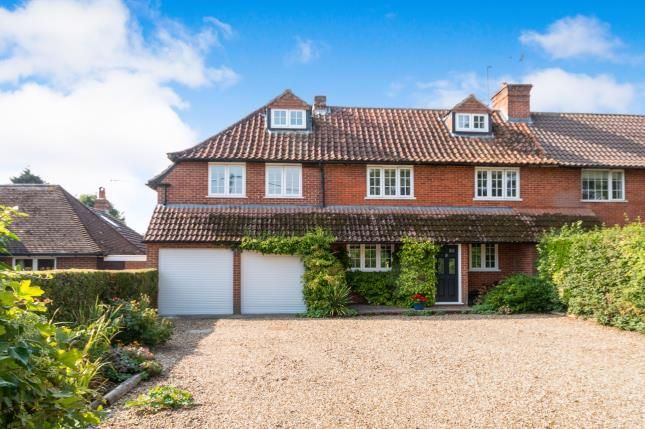 Thumbnail Semi-detached house for sale in Old Basing, Basingstoke, Hampshire