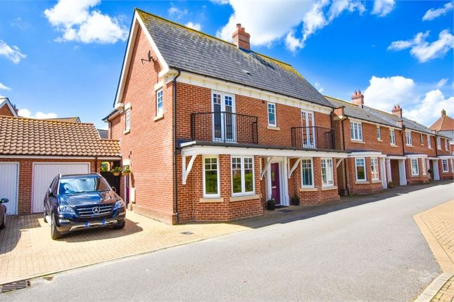 Thumbnail Detached house for sale in Pattinson Walk, Great Horkesley, Colchester, Essex