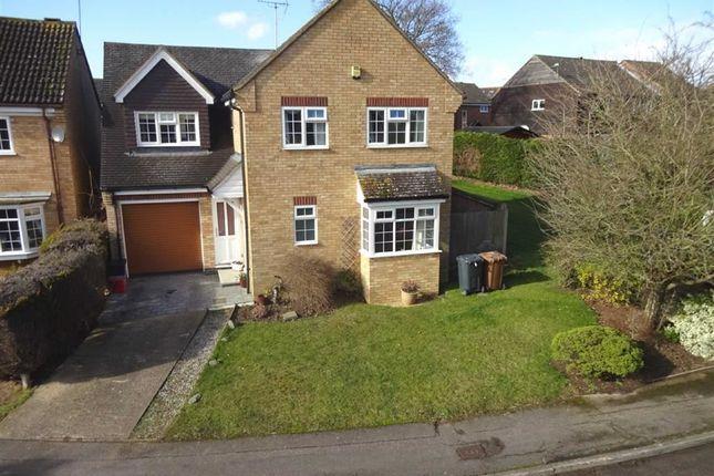Thumbnail Detached house for sale in Edmonds Drive, Poplars, Stevenage, Herts