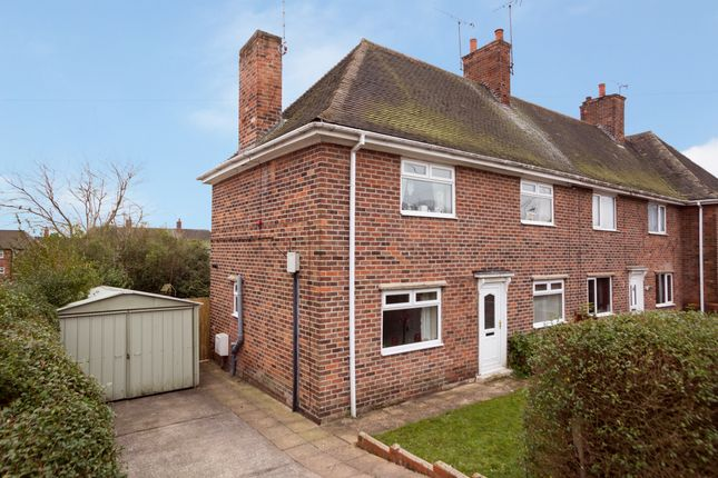 Thumbnail Semi-detached house for sale in Second Avenue, Edwinstowe