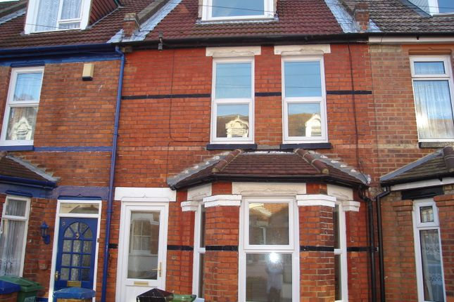 Thumbnail Terraced house to rent in Athelstan Road, Folkestone