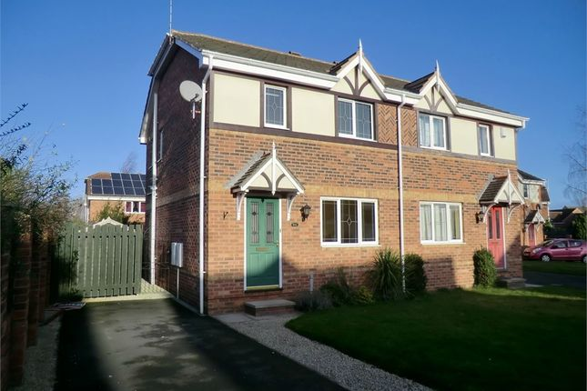 Thumbnail Semi-detached house to rent in Brodsworth Way, Rossington, Doncaster, South Yorkshire