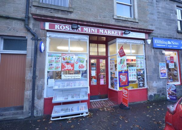 Thumbnail Retail premises for sale in Main Street, Roslin, Midlothian
