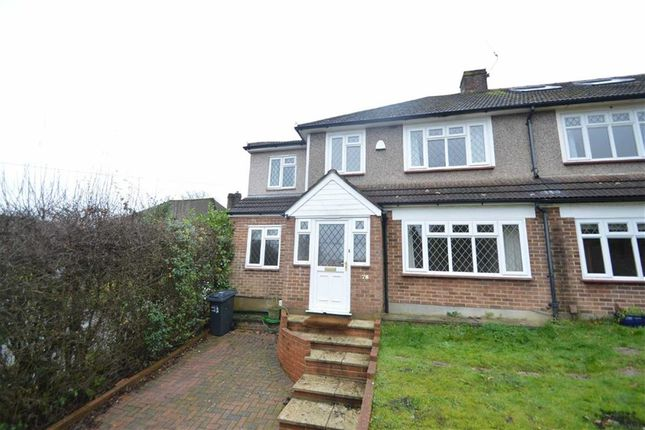 Thumbnail Semi-detached house to rent in Waddington Avenue, Coulsdon, Surrey