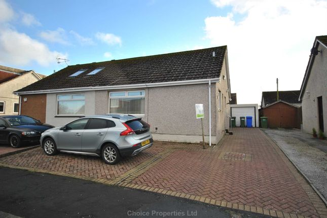 Thumbnail Semi-detached bungalow for sale in Hunter Road, Crosshouse
