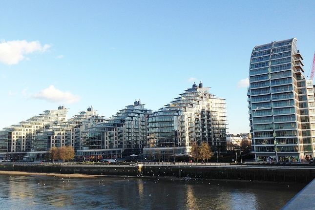 Thumbnail Flat to rent in Ensign House, Juniper Drive, Battersea Reach, Wandsworth