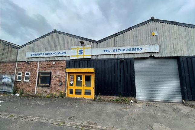 Thumbnail Light industrial to let in Hamil Road, Burslem, Stoke-On-Trent, Staffordshire