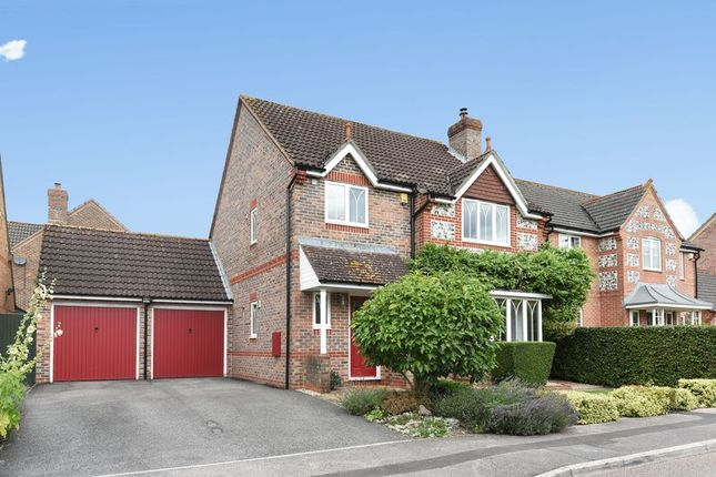Thumbnail Detached house for sale in Cowslip Crescent, Dunstan Park, Thatcham