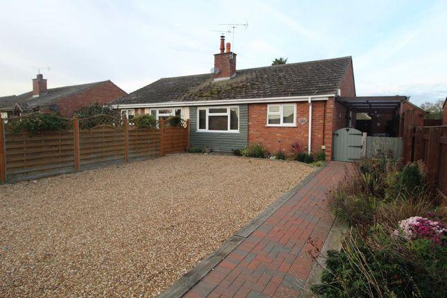 Thumbnail Semi-detached bungalow to rent in Neve Gardens, West Row, Bury St. Edmunds