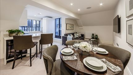 Thumbnail Flat to rent in Palace Wharf Apartments, Oxford Penthouse, London