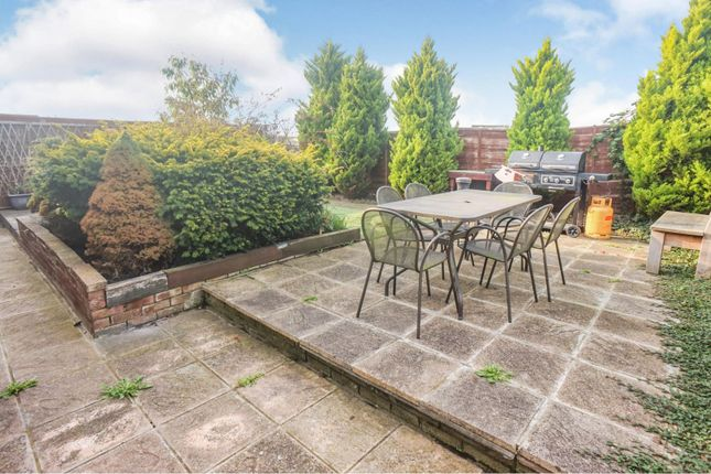 Rear Garden of Westfield Approach, North Greetwell, Lincoln LN2