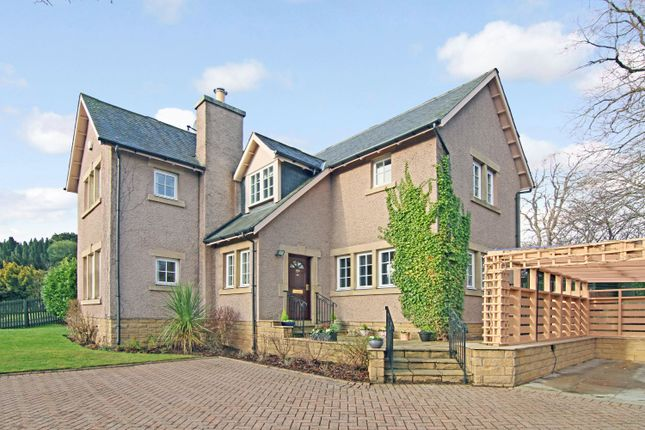 Thumbnail Detached house for sale in Cairnbank, Penicuik