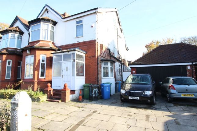 Thumbnail Flat to rent in Park Road, Stretford, Manchester
