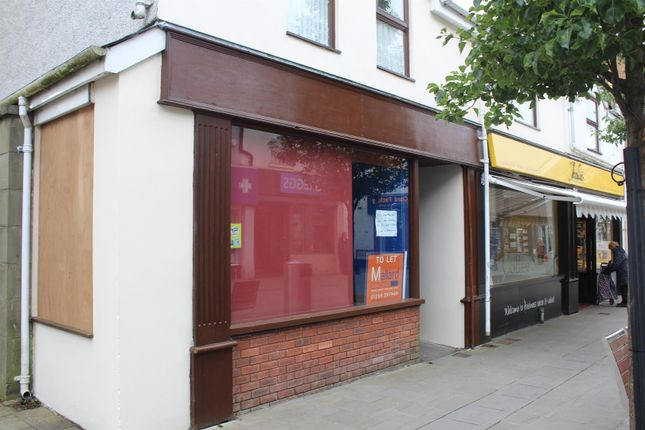 Thumbnail Commercial property to let in Quay Street, Ammanford