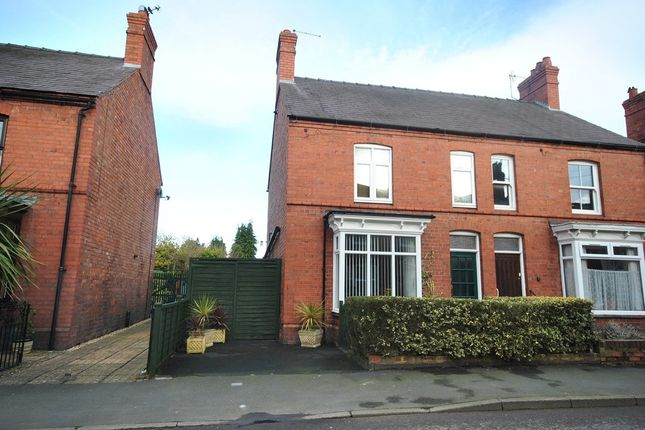 Thumbnail Semi-detached house for sale in Station Road, Wem, Shrewsbury