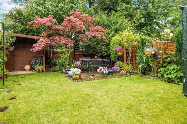 Garden of Chesham Drive, Bramcote, Nottingham, Nottinghamshire NG9