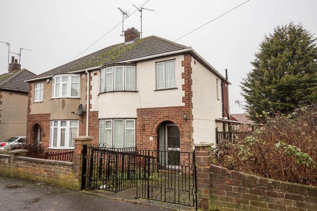 3 bed semi-detached house for sale in Hayden Avenue, Finedon, Wellingborough