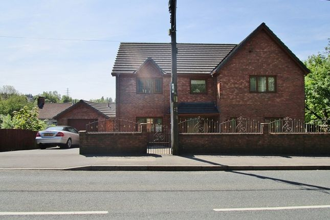 Thumbnail Detached house for sale in Beaufort Hill, Beaufort, Ebbw Vale, Gwent