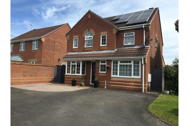 Thumbnail Detached house for sale in Paradise Close, Moira