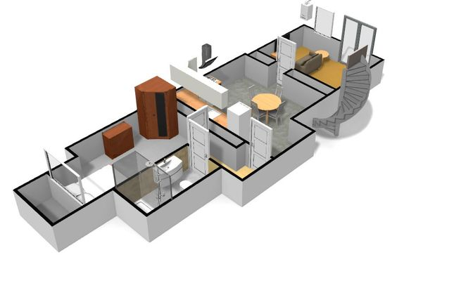 Thumbnail Flat to rent in Flat 1, Lower Ground, 14 Connaught Avenue