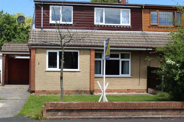 Thumbnail Semi-detached bungalow to rent in Cedar Close, Grimsargh, Preston