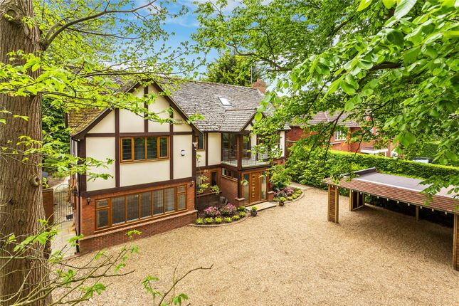 Thumbnail Detached house for sale in Pyrford, Surrey
