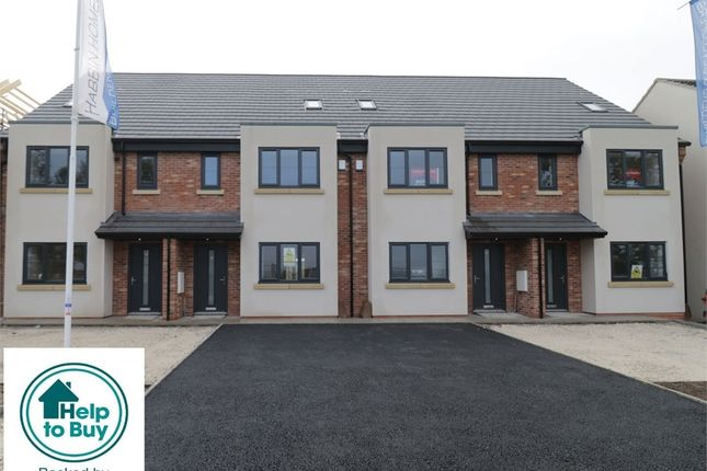 Thumbnail Town house for sale in Plots 1-8, Moorlands Terrace, Ravenfield, Rotherham, South Yorkshire