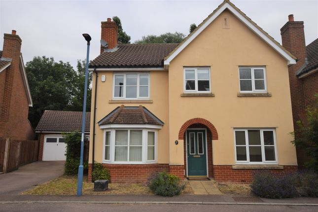 Thumbnail Detached house to rent in Cressbrook Drive, Great Cambourne, Cambourne, Cambridge