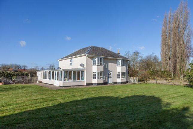 Thumbnail Farmhouse for sale in Fen Road, Old Buckenham, Attleborough