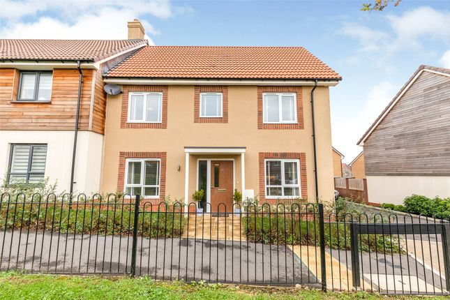 Thumbnail Semi-detached house for sale in Hoopers Walk, Longwell Green, Bristol
