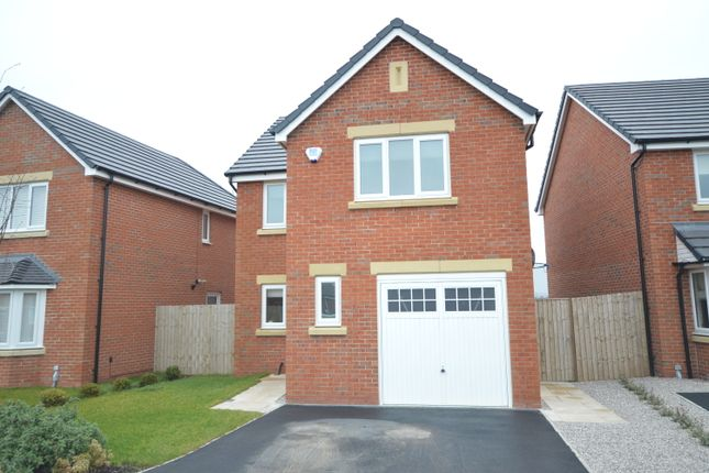 Thumbnail Detached house for sale in Lea Green Drive, Blackpool