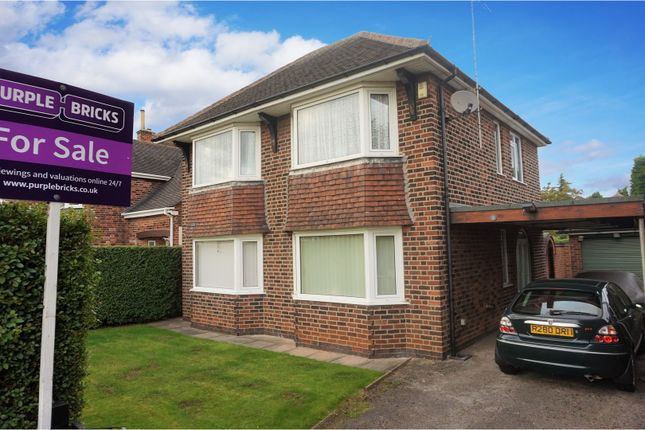 Thumbnail Detached house for sale in Aspley Park Drive, Nottingham