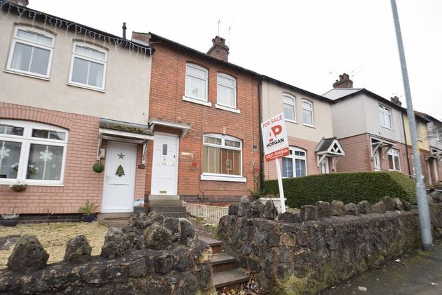 Thumbnail Terraced house for sale in Beoley Road East, Lakeside, Redditch, Worcestershire