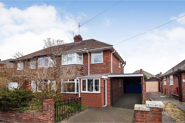 Thumbnail Semi-detached house for sale in Ledgard Drive, Wakefield