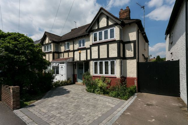 Thumbnail Semi-detached house for sale in New Road, Chingford, London
