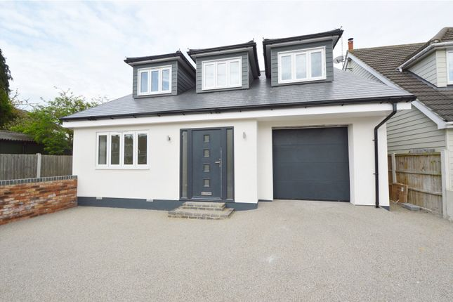 Thumbnail Detached house for sale in Woodfield Road, Benfleet, Essex