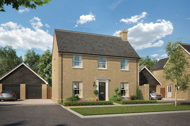 3 bedroom detached house for sale in The Robson At Saxon Meadows, Capel St Mary, Suffolk