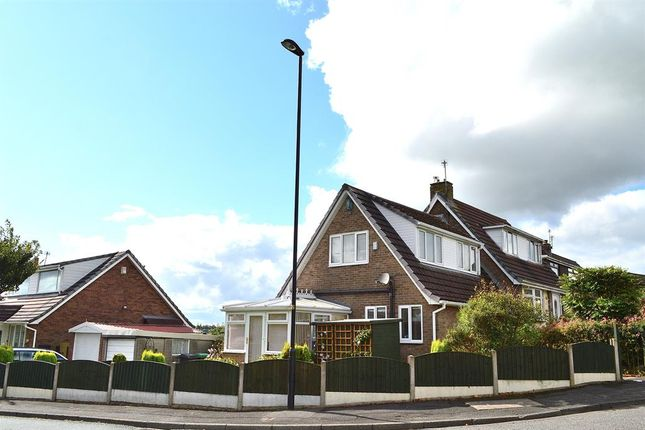 Thumbnail Semi-detached house for sale in Sherwood Way, Shaw, Oldham