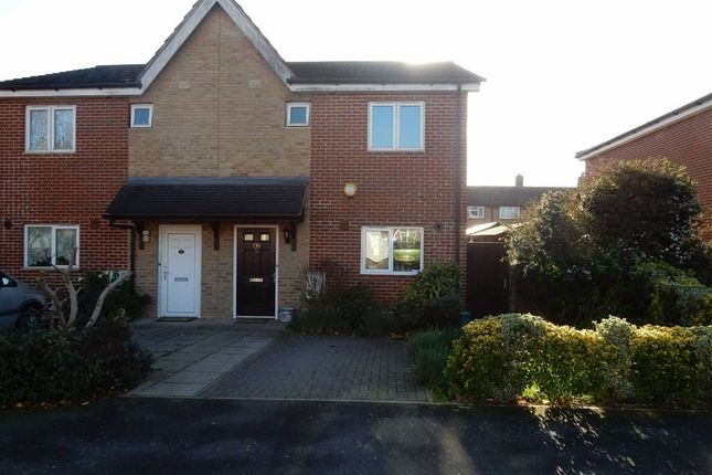 3 bed semi-detached house for sale in Huntingdon Close, Northolt, Middlesex
