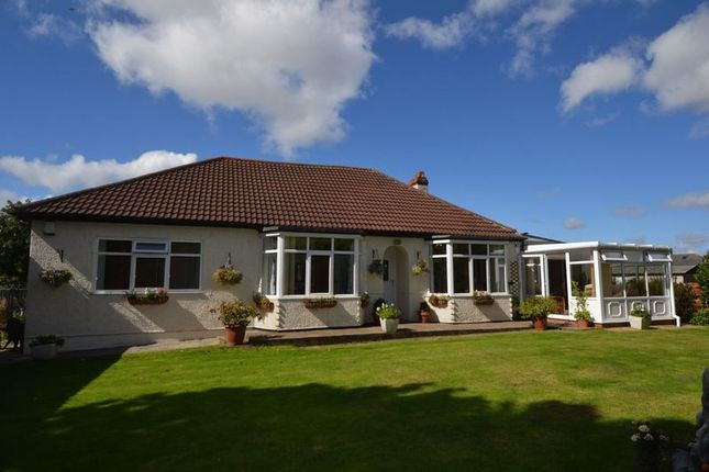 Thumbnail Detached bungalow for sale in Old Ferneybeds Road, Widdrington, Morpeth