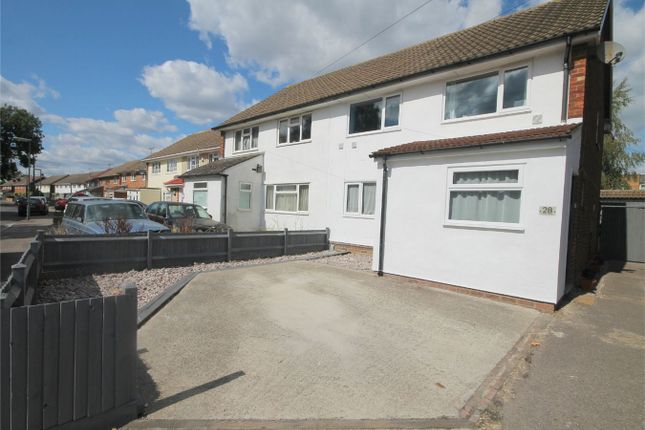Thumbnail Semi-detached house for sale in Everest Road, Stanwell, Staines-Upon-Thames, Surrey