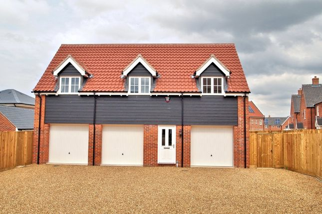 Thumbnail Flat for sale in Fakenham Road, Wells-Next-The-Sea