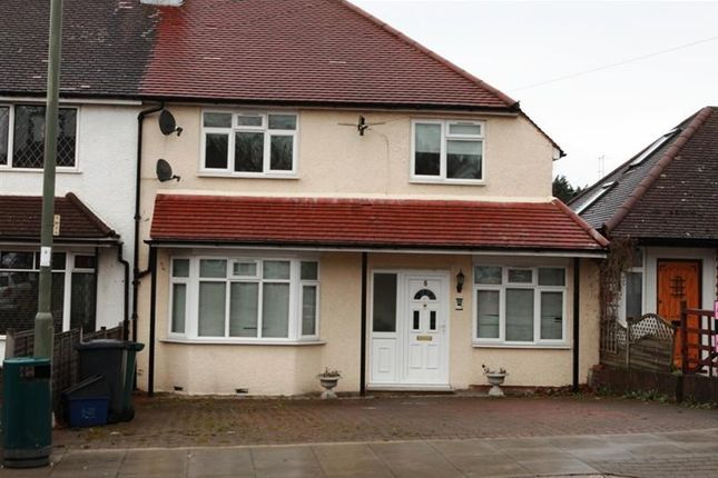 Thumbnail Semi-detached house to rent in Meadway, High Barnet, Barnet