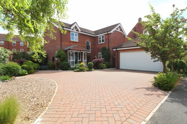 Thumbnail Detached house for sale in Birchwood View, Gainsborough, Lincs