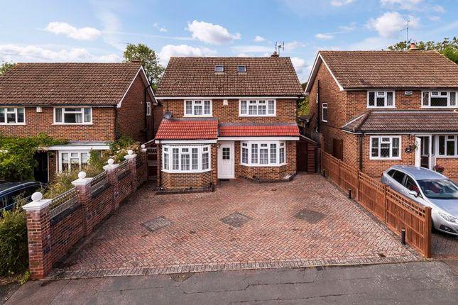 Thumbnail Detached house for sale in Swan Ridge, Marlpit Hill, Edenbridge