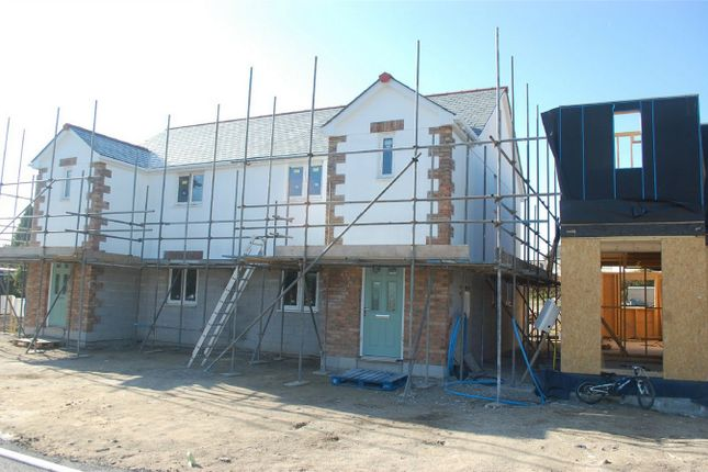 Thumbnail Semi-detached house for sale in Plot 7 Wheal Rose, Roche Road, Bugle, Cornwall
