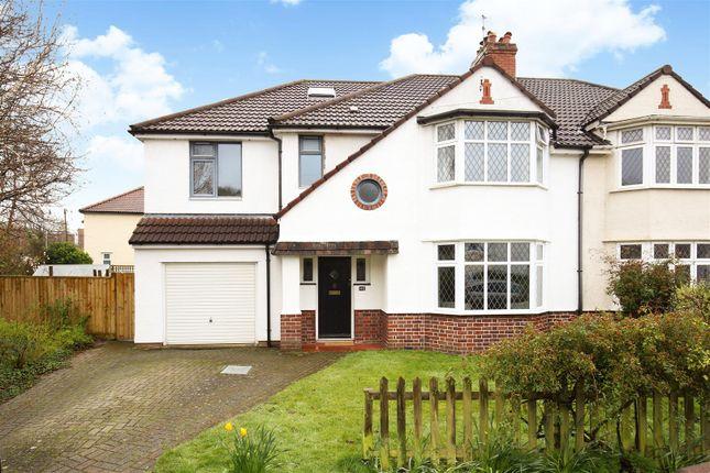 Thumbnail Semi-detached house for sale in Cherington Road, Westbury-On-Trym, Bristol