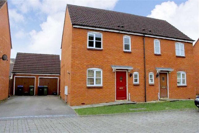 Thumbnail Semi-detached house to rent in Poppy Close, Calne, Wiltshire