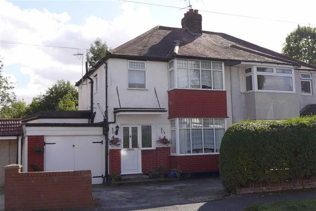 Thumbnail Semi-detached house for sale in Park Crescent, Harrow Weald, Middlesex